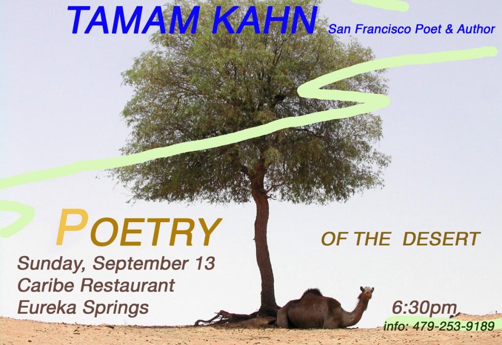 Taman Khan Poetry of the Desert