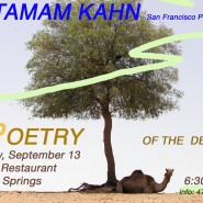 'Poetry of the Desert' with Taman Khan