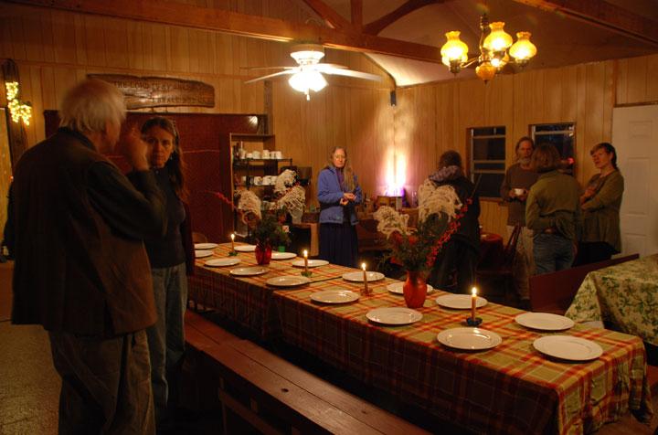 Thanksgiving Dinner at Heartsong